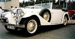 A.C. 16/70 Sports Drophead Coupé 1935