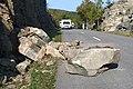 Acadia National Park, rockfall on the park loop road.jpg