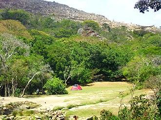 Dinira National Park - Image: Acampando en la Cascada del Vino Barbacoas, Edo. Lara