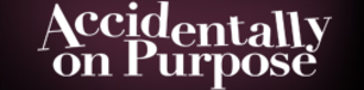 Accidentally on Purpose (TV series) - Image: Accidentally on Purpose logo