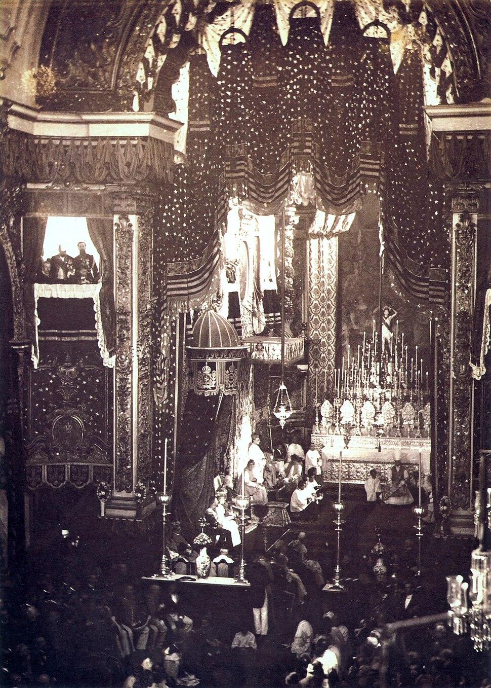 Acclamation of Princess Isabel 1887