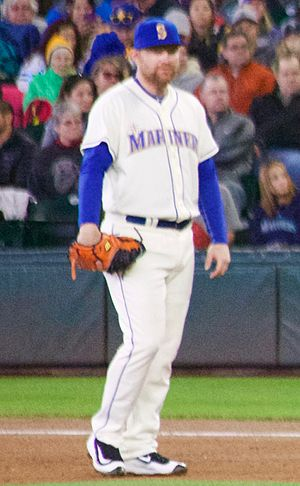 Adam Lind - Lind playing for the Seattle Mariners in 2016