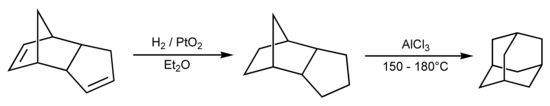 Synthese von Adamantan
