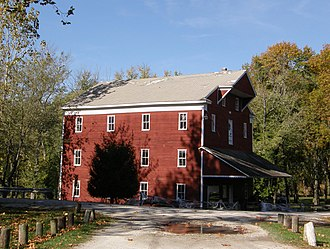 National Register of Historic Places listings in Carroll County, Indiana - Image: Adams Mill near Cutler