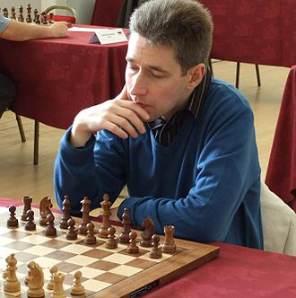 Michael Adams (chess player) - GM Adams at the EU championship, Liverpool 2008