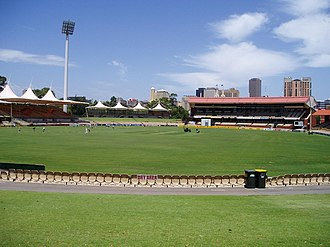 Bob Taylor (cricketer) - The Adelaide Oval, scene of Taylor's career-best 97.