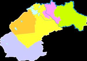 Songyuan - Image: Administrative Division Songyuan