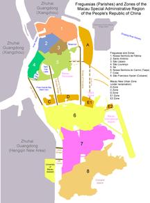 Macau-Administrative divisions-Administrative Division of Macau