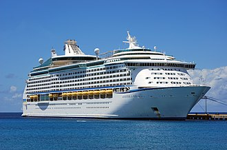 Voyager-class cruise ship - Image: Adventure of the Seas Wade 2012