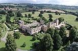 Luftbildfoto von Sudeley Castle aus nordwestlicher Richtung