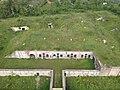 Aerial photograph of batterie de Sermenaz - Neyron - France (drone) - May 2021 (3).JPG