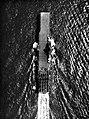 Aerial view of USS Intrepid (CV-11) underway at sea, in 1945.jpg