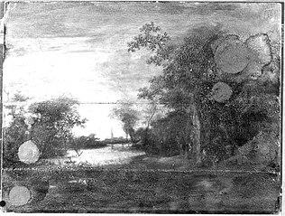 Kanallandschaft bei Sonnenuntergang (Nachahmer)