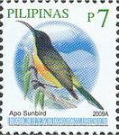 Aethopyga boltoni 2009 stamp of the Philippines.jpg