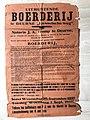 Affiche verkoop boerderij Van den Eijnden 1 september 1937.jpg