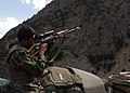 Afghan National Army (ANA) soldier with PSL rifle.JPG