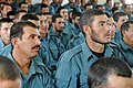 Afghan Uniformed Police listen to a speech at Training Sustainment Site Costal.jpg