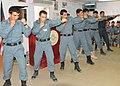 Afghan police NCOs demonstrate self-defense moves at Kandahar Regional Training Center.jpg