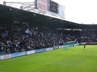 Helmántico Stadium - Image: Aficion UDS