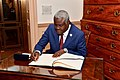 African Union Chairperson Moussa Faki in Washington - 2017 (26696082279).jpg