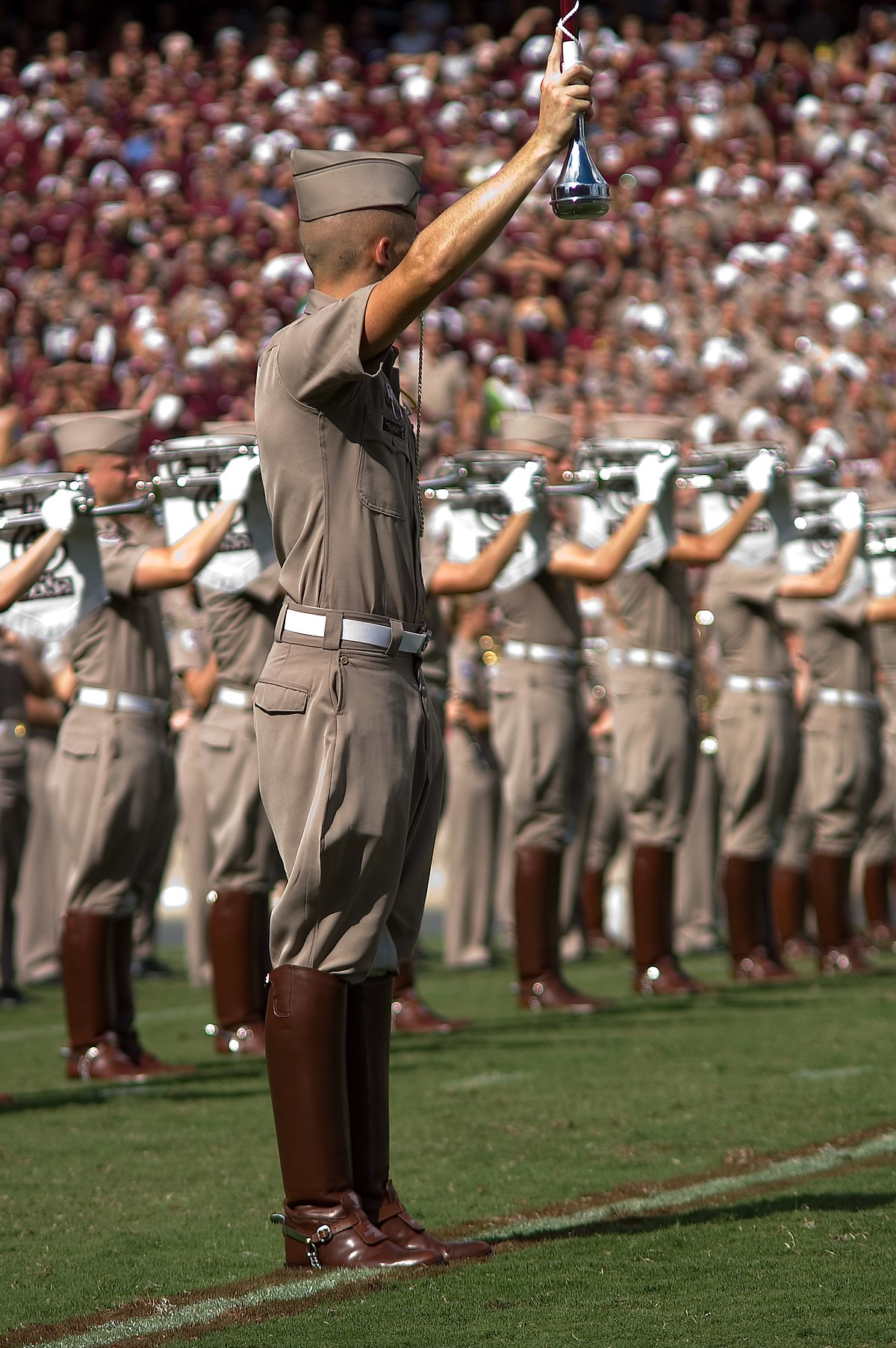 Drum major (marching band) - Wikipedia