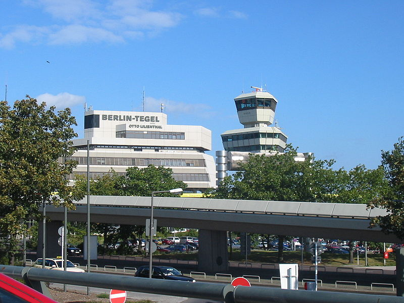 Аэропорт Берлина Тегель Tegel Airport
