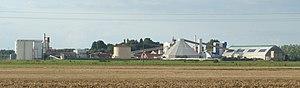 Aiserey - The Sugar refinery at Aiserey