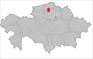 Aiyrtau District - Image: Aiyrtau District Kazakhstan