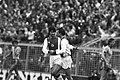 Ajax tegen FC Den Haag 9-1. 1a Cruijff en La Ling blij, 2a Cruijff (m.) en Rijka, Bestanddeelnr 932-0559.jpg