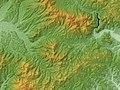 Akakura Caldera Relief Map, SRTM-1.jpg