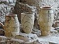 Akrotiri Archeological Excavation Pithoi store room 02.jpg