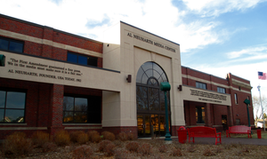 University of South Dakota - Al Neuharth Media Center, dedicated to Al Neuharth