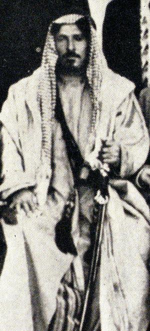 Bani Sakhr - Sheikh al-Fayez, Jerusalem, 1933