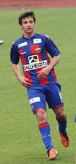 Alan Dzagoev - Dzagoev playing for CSKA in May 2011