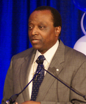 Alan Keyes - Keyes at a 2008 Presidential campaign rally