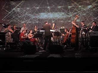 Alarm Will Sound - Image: Alarm Will Sound at Sacrum Profanum 2011, Photo credit Michael Clayville