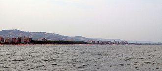 Alba Adriatica vista dal mare