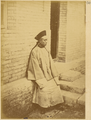 Albazin Youth. Albazin Prisoners of War Professed the Orthodox Religion but Adopted Chinese Language and Customs after Capture by Manchurians in 1685. Beijing, 1874 WDL1941.png