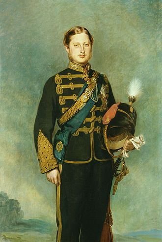 Monarchy in Prince Edward Island - Prince Albert Edward, Prince of Wales, in 1864, four years after he visited Prince Edward Island, making him the first royal to do so