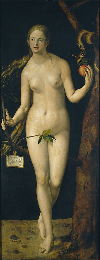 The Suicide of Lucretia (Dürer) - Adam and Eve, 1507, Prado, Madrid