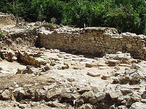 Roșia Montană - Ruins of Alburnus Maior in Roșia Montană