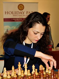 Alexandra Kosteniuk Russian chess player