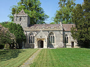 Alford, Somerset - Image: Alford church