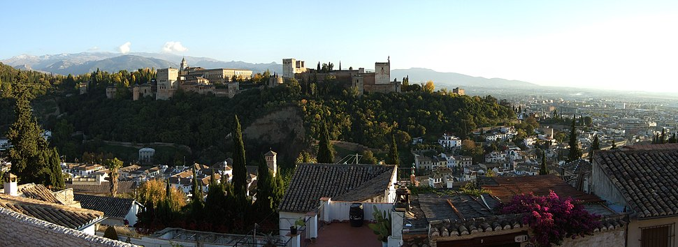 Vista panorámica da Alhambra
