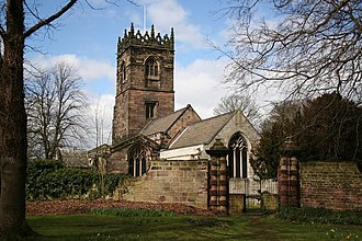 Aston, South Yorkshire - Image: All Saints' church, Aston geograph.org.uk 146514