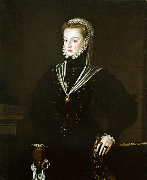 Retrato de doña Juana de Portugal, de Sánchez Coello