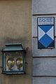 Alte Textilfabrik, Herrenhaus in Oberbrühl - Schild.jpg