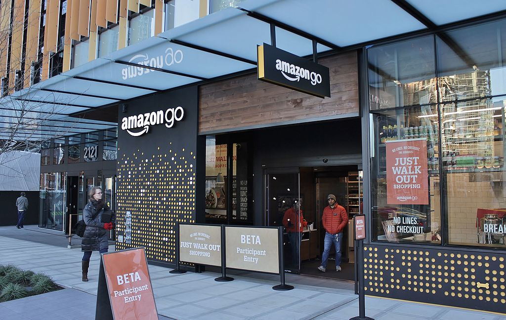 Amazon Go in Seattle, December 2016