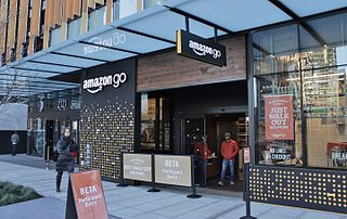 Amazon Go Grocery stores operated by Amazon.com