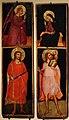 Ambito fiorentino, annunciazione e i ss. giuliano e cristoforo, 1390 ca.JPG